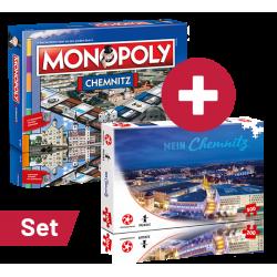 Set: Monopoly Chemnitz +...