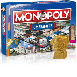 Monopoly Chemnitz Gold Edition