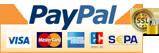 Sichere Bezahlung mit PayPal (inkl. Lastschrift, Kreditkarte, auf Rechnung)